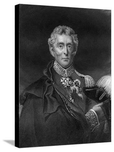 Arthur Wellesley, 1st Duke of Wellington, British Soldier and Statesman, 19th Century- Lightfoot-Stretched Canvas Print