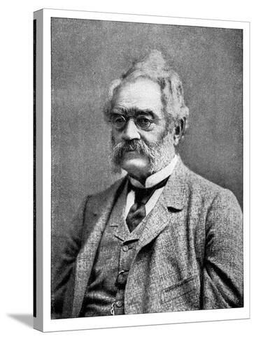 Ernst Werner Von Siemens 19th Century German Inventor and Industrialist--Stretched Canvas Print
