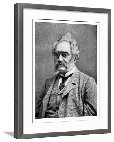 Ernst Werner Von Siemens 19th Century German Inventor and Industrialist--Framed Art Print
