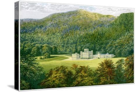 Taymouth Castle, Perthshire, Scotland, Home of the Earl of Breadalbane, C1880-Benjamin Fawcett-Stretched Canvas Print