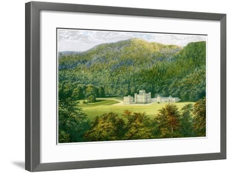 Taymouth Castle, Perthshire, Scotland, Home of the Earl of Breadalbane, C1880-Benjamin Fawcett-Framed Art Print
