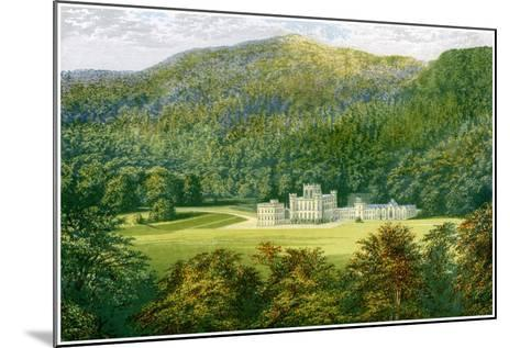 Taymouth Castle, Perthshire, Scotland, Home of the Earl of Breadalbane, C1880-Benjamin Fawcett-Mounted Giclee Print