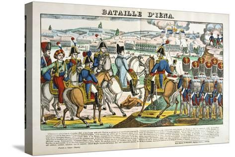 Battle of Jena, 14 October, 1806--Stretched Canvas Print