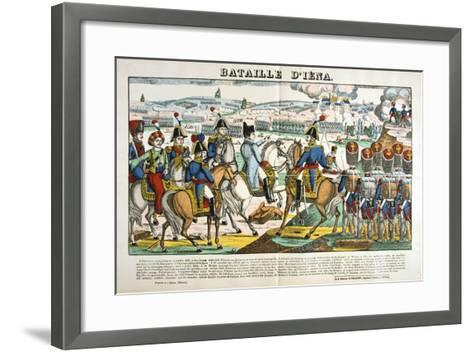 Battle of Jena, 14 October, 1806--Framed Art Print