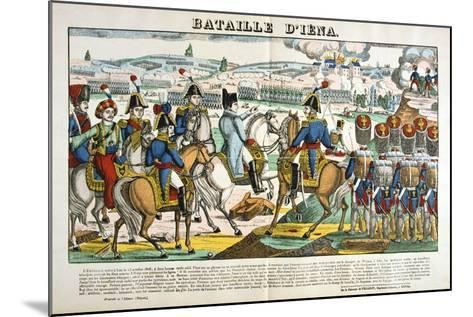 Battle of Jena, 14 October, 1806--Mounted Giclee Print