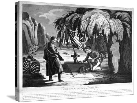 The Ghost of Napoleon on St Helena, C1825--Stretched Canvas Print