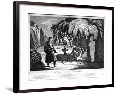The Ghost of Napoleon on St Helena, C1825--Framed Art Print