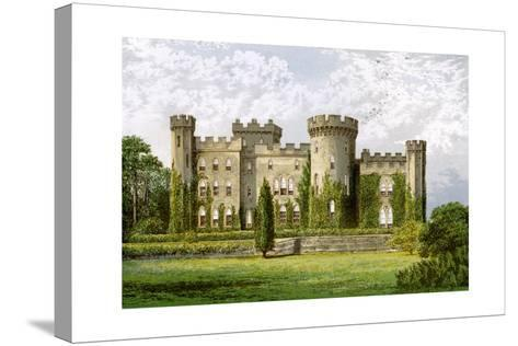 Cholmondeley Castle, Cheshire, Home of the Marquis of Cholmondeley, C1880-Benjamin Fawcett-Stretched Canvas Print