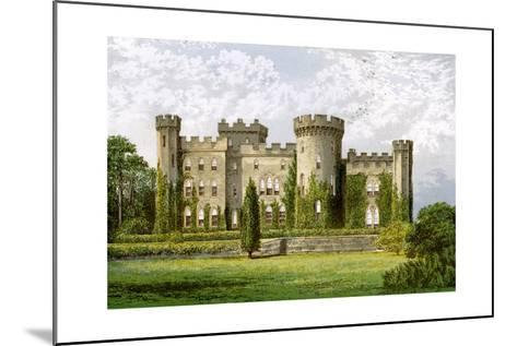 Cholmondeley Castle, Cheshire, Home of the Marquis of Cholmondeley, C1880-Benjamin Fawcett-Mounted Giclee Print