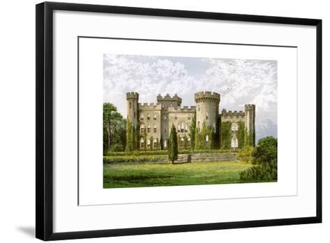 Cholmondeley Castle, Cheshire, Home of the Marquis of Cholmondeley, C1880-Benjamin Fawcett-Framed Art Print