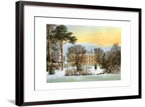Warter Priory, Near Pocklington, Yorkshire, Home of the Wilson Family, C1880-Benjamin Fawcett-Framed Art Print