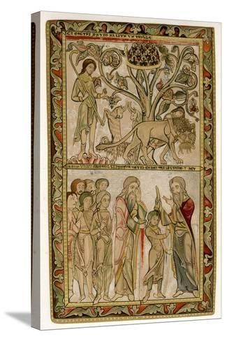 David and Samuel, 1121-1161--Stretched Canvas Print