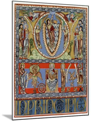 Ascension, C1155--Mounted Giclee Print