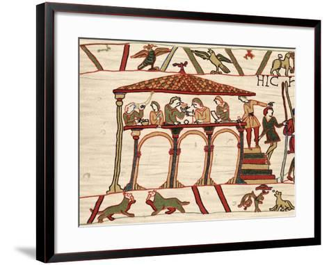 Harold Ii, Last Anglo-Saxon King of England, 1066 (1070)--Framed Art Print