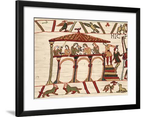 Harold Ii, Last Anglo-Saxon King of England, 1066 (1070)--Framed Art Print