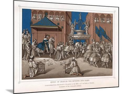 Triumphal Entry of Charles VII, King of France, into Paris, C1435--Mounted Giclee Print