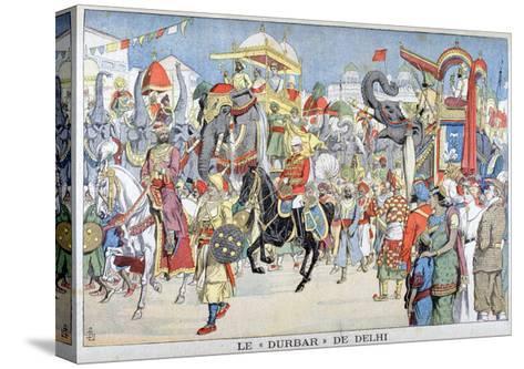 The Delhi Durbar, 1903--Stretched Canvas Print