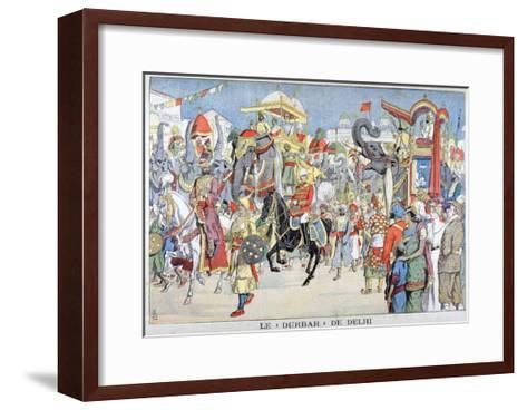 The Delhi Durbar, 1903--Framed Art Print