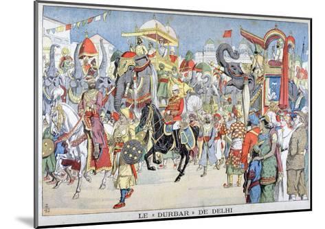 The Delhi Durbar, 1903--Mounted Giclee Print