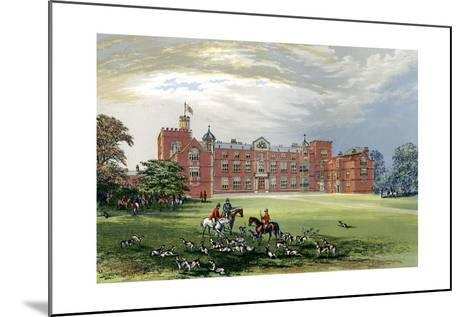 Burton Constable, Yorkshire, Home of Baronet Constable, C1880-AF Lydon-Mounted Giclee Print