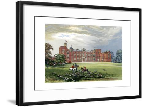 Burton Constable, Yorkshire, Home of Baronet Constable, C1880-AF Lydon-Framed Art Print