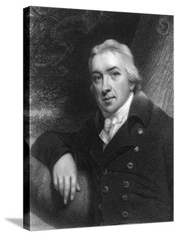 Edward Jenner, English Physician, 1837--Stretched Canvas Print