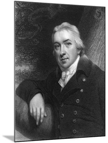 Edward Jenner, English Physician, 1837--Mounted Giclee Print