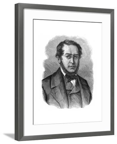 Pierre-Joseph Proudhon, 19th Century French Mutualist Political Philosopher--Framed Art Print
