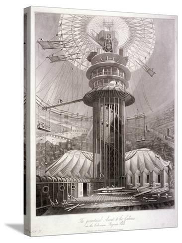 Regent's Park, Marylebone, London, 1829--Stretched Canvas Print