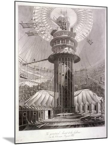 Regent's Park, Marylebone, London, 1829--Mounted Giclee Print