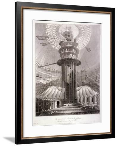 Regent's Park, Marylebone, London, 1829--Framed Art Print