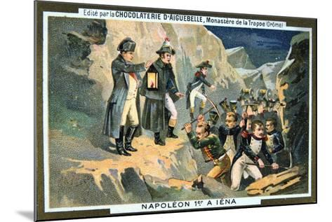Napoleon at the Battle of Jena, 14 October 1806--Mounted Giclee Print