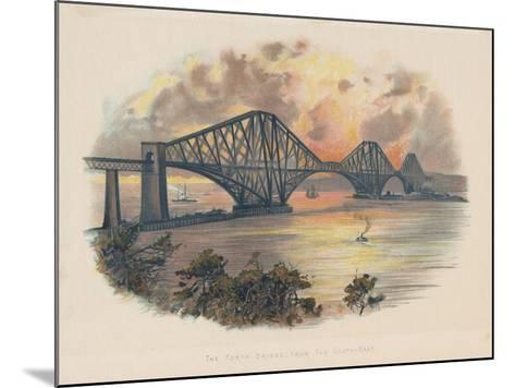 Forth Railway Bridge from the South-East, Scotland, C1895--Mounted Giclee Print