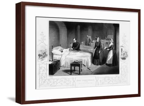 Florence Nightingale in the Hospital at Scutari, C1860--Framed Art Print