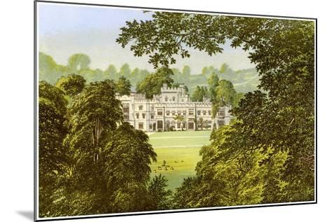Hampton Court, Herefordshire, Home of the Arkwright Family, C1880-Benjamin Fawcett-Mounted Giclee Print
