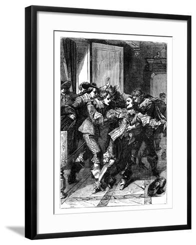 The Assassination of the Duke of Buckingham, C1902--Framed Art Print