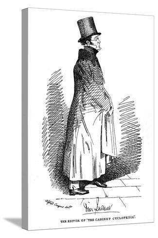 Dionysius Lardner, Irish-Born Scientific Writer, 1835-Daniel Maclise-Stretched Canvas Print