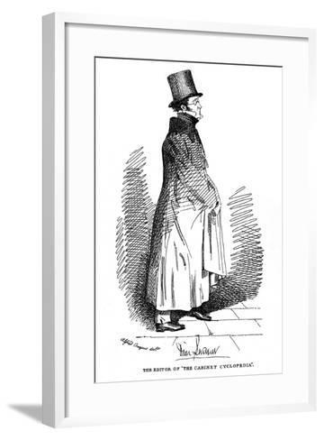Dionysius Lardner, Irish-Born Scientific Writer, 1835-Daniel Maclise-Framed Art Print