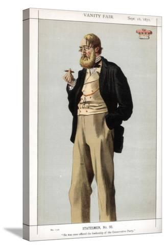He Was Once Offered the Leadership of the Conservative Party, 1871-Coide-Stretched Canvas Print