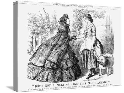 Doth Not a Meeting Like This Make Amends?, 1861--Stretched Canvas Print