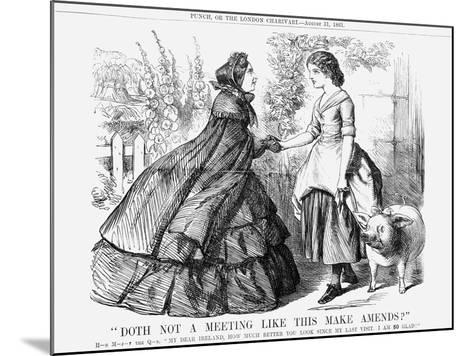 Doth Not a Meeting Like This Make Amends?, 1861--Mounted Giclee Print