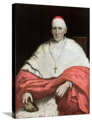 His Eminence Cardinal Manning, 1889-Walter William Ouless-Stretched Canvas Print
