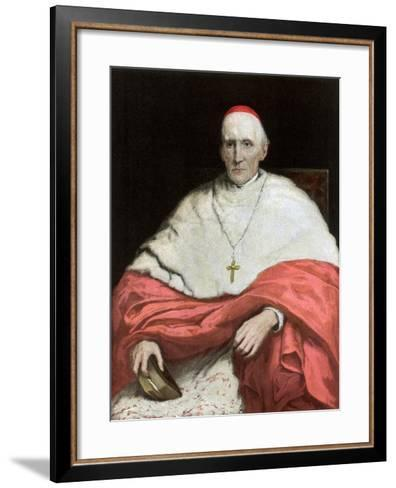 His Eminence Cardinal Manning, 1889-Walter William Ouless-Framed Art Print