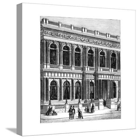 The Carlton Club, London, 1891--Stretched Canvas Print