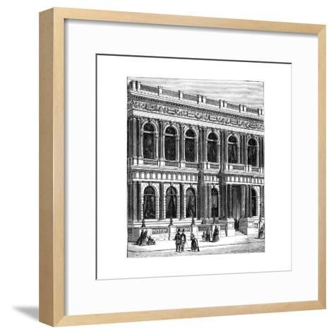 The Carlton Club, London, 1891--Framed Art Print