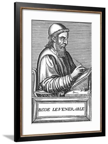 The Venerable Bede (C673-73), Anglo-Saxon Theologian, Scholar and Historian, C1584--Framed Art Print