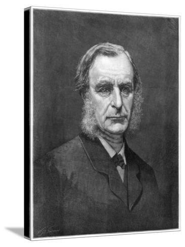 Reverend Charles Kingsley, English Cleric and Writer, 1875--Stretched Canvas Print