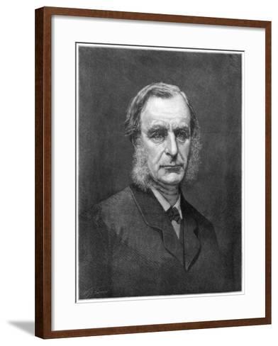 Reverend Charles Kingsley, English Cleric and Writer, 1875--Framed Art Print
