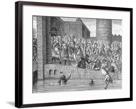 Henry IV of France Entering Paris, 22 March 1594--Framed Art Print