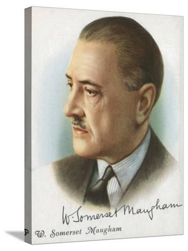 William Somerset Maugham, British Author of Novels, Plays and Short Stories, 1927-Somerset Maugham-Stretched Canvas Print